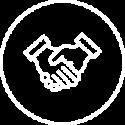 Icon Persönlicher Service - Invers
